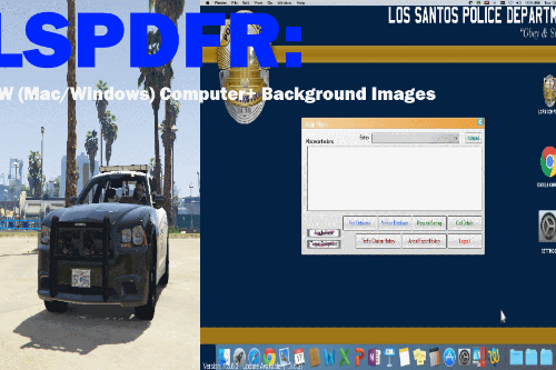 LSPDFR: Computer+ Backgrounds